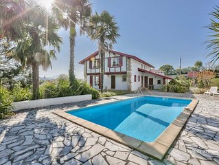 Dreams of France - Espelette Villa with pool & expansive views