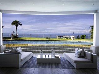 Whales view, beach house on Cliff Villamarunga