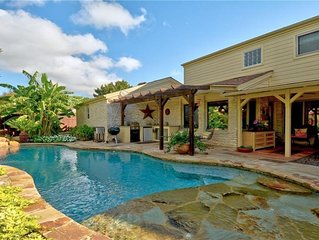 Country club style home with private pool and just 10 miles from Downtown Austin
