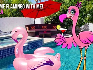 Oasis Paradise in the Desert! LET'S FLAMINGLE!!!