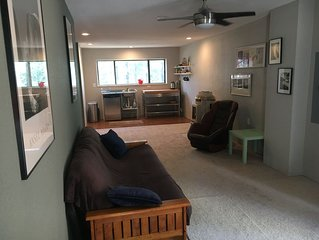 Cozy Guest Suite in the Pine Trees - Studio Apartment- Dog Friendly