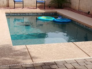 Heated Pool! 4 Bdrms! Beautiful home close to everything!