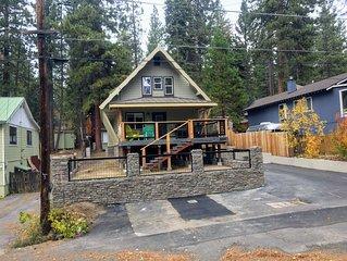 Kings Beach cabin in North Lake Tahoe