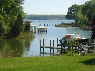 Secluded Waterfront Home Minutes from Down Town Annapolis