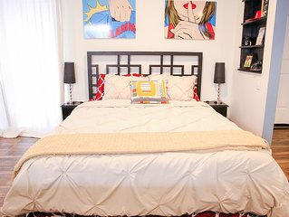 New Listing! Private Guesthouse NoHo Arts District - Huge Studio!