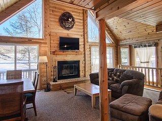 Enjoy Your Ski Vacation at Woodland Cottage at Shanty Creek