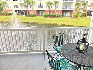 Step into this beautiful decorated 2 bedroom, 2 bath condo.