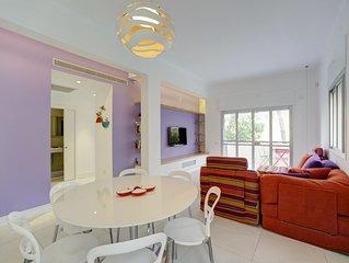 Ruppin St – Stylish 2 Bedroom & Balcony