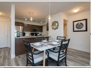 Beautiful fully furnished 2 bedroom condo with views! (Chilliwack)