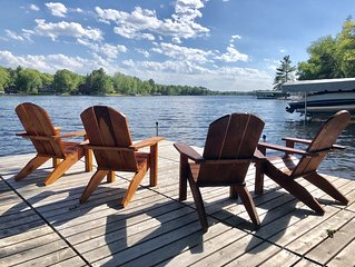 Newly remodeled cabin on Daggett • PONTOON INCLUDED