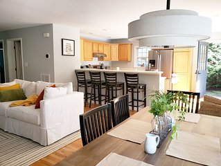 Enjoy a stress free Hamptons vacation in our newly furnished, light-filled home!