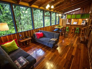 Casa Ira Rosa, 5 Minutes From The Monteverde Cloud Forest Reserve