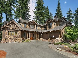 Exquisite Suncadia home located on  golf course with all the bells and whistles!