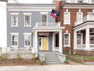 Gorgeous and spacious Church Hill Home- PARKFRONT and CITY VIEWS!!!