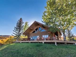 Mountain Ranch with Cabin and Private Beach