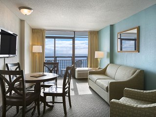 Oceanfront Suite at Kid Friendly Resort + Official On-Site Rental Privileges