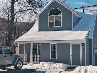 Private Ski in/Ski out 4 BR Home on Jiminy Peak