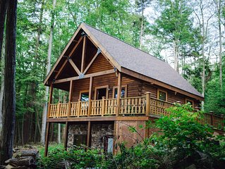 ★DONT MISS★CABIN ON THE RIVER★YOUR PRIVATE ESCAPE