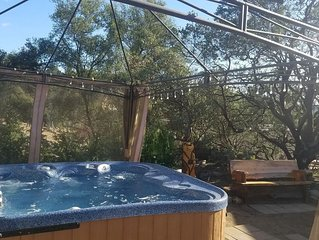 Private Riverview Getaway /w Hot Tub