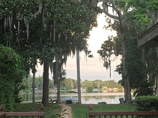 1400sf Lake Home Secluded but close to everything