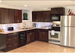 Clean and Cozy- 2BD/2 Full Baths Private Suite HUGE SqFt • Laundry • Full Kitche