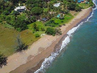 Fabulous 3 Br Kekaha Estate w/ pool access overlooking the beach!