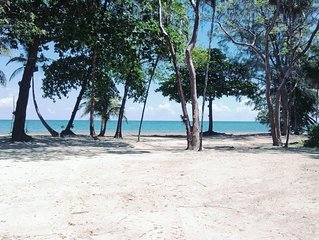 Tranquil Beachfront Bungalow In Private, Gated, Eco-Dive Resort Community.