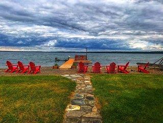 Gorgeous house on Seneca Lake! Breathtaking views