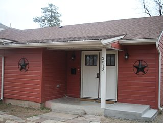 Quiet West Texas Cottage  1600 sq ft of living space