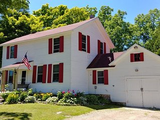 Havngård House- a historic and hip house in the center of Door County action!