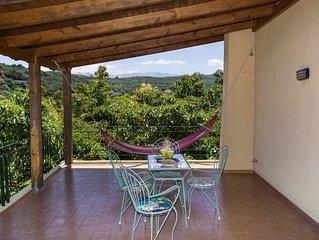 Villa Orion is located inside the village of Kiparissos at Chania Crete Greece.