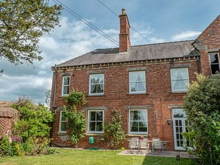 Spacious period property on historic, private estate sleeping up to 12.