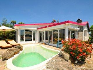 Lorizon à Rodrigues, belle villa avec piscine privée et belle vue