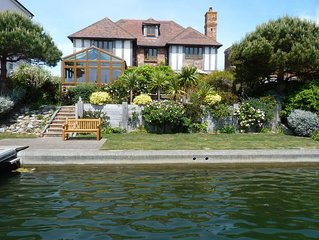 Wellington Quay - stunning six-bed house with water views and private jetty