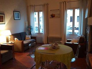 Appartement de charme 'Le balcon des Cardeurs'