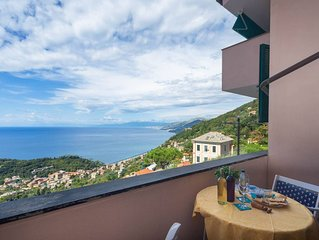 Charming apartment, breathtaking seaview and pool