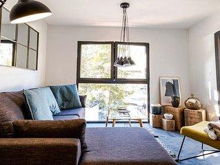 Appartement 4 couchages de 45m2 a Valloire, au pied des telecabines