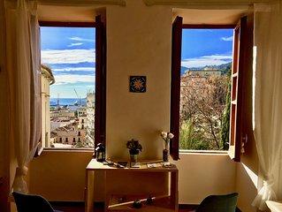 Le finestre sul Giardino della Minerva