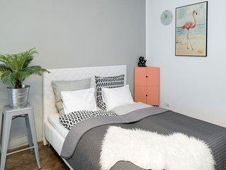 ZEBRA by WAWELOVE spacious 2 bedroom apt in Old Town Kazimierz!