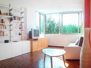 Intero appartamento immerso nel verde, a 2 passi dal mare