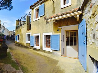 Beautifully Restored Village House With Sunny Terrace Overlooking Church Gardens