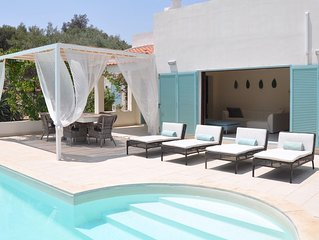 Villa Val di Noto outdoor cinema / 2 private pools / hydro massage / playground
