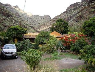 Casa Rural con piscina en Parque Rural Anaga, próximo y a 40 mts nivel del mar