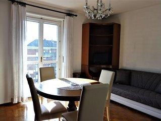 Spazioso appartamento ad Aosta