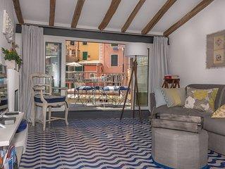 Riomaggiore - Cinque Terre - Casa con terrazza sul porticciolo