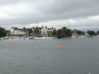 Saltsjobaden - Beautiful town in the archipelago close to Stockholm city.