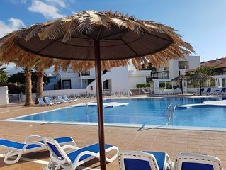 FANTASTIC APARTMENT WITH SEA AND TEIDE VOLCANO VIEWS - 2 TERRACE AND HEATED POOL