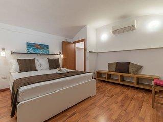 Appartamento con due camere da letto fronte Musei Vaticani, location eccezionale