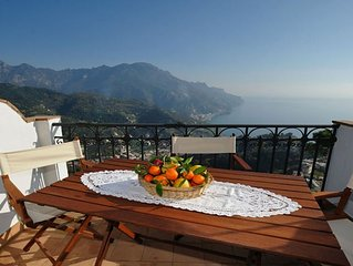LA MUSICA - HOLIDAY APARTMENT - RAVELLO - AMALFI COAST