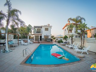 Villa Niki (Private pool, 50 meters from the beach,Near Nissi Beach)